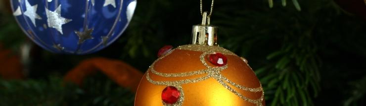 Zdobení vánočních baněk