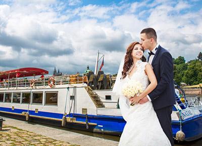 Svatby na lodi